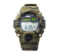 שעון יד דיגיטלי צבאי ספורט 1197 עמיד במים ותנאי שטח בעל תאורת LED אחריות ייבואן הרשמי