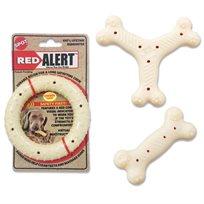 צעצוע עמיד לכלב  בצורת עצם Red Alert