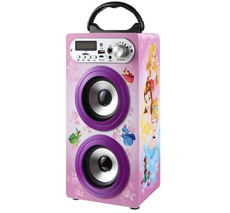 Princess Bluetooth Double tower Speaker whit mic