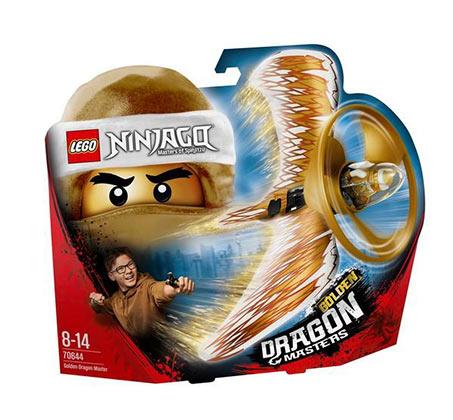 דרגון מאסטר המוזהב - משחק לילדים LEGO