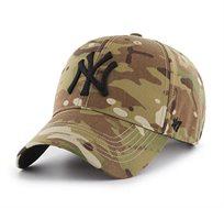 כובע NY YANKEES - צבאי סמל שחור
