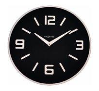 שעון קיר זכוכית SHOKO עגול