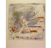 """""""נוף"""" - ציורו של שטרייכמן יחזקאל, הדפס בחתימה אישית בגודל 64X86 ס""""מ"""
