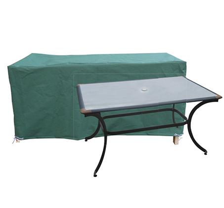 כיסוי איכותי לשולחן מלבני או אובלי בנוני מבית CAMPTOWN
