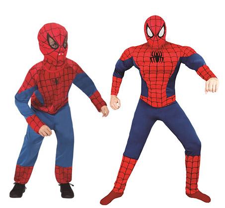 תחפושת ספיידרמן להורה וילד