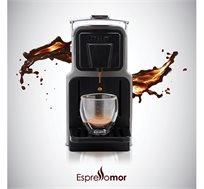 מכונת קפה אספרסו מור דגם Venus כולל 500 קפסולות מותאמות לשימוש במכונת נספרסו