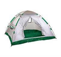 אוהל משפחתי GO NATURE פתיחה מהירה ל-4 אנשים ONE TOUCH