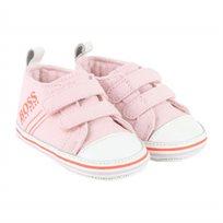 BOSS / בוס נעלי תינוקות (מידה 18-20) - ורוד בייבי