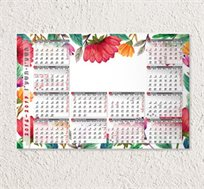 לוח שנה Placement בגודל A3 עם תמונה אישית לבחירתכם
