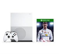 מכירה מוקדמת לקונסולה Xbox One S בנפח 500GB עם המשחק FIFA 18