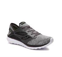נעלי ספורט לגברים בצבע שחור/אפור