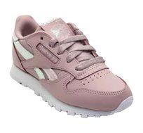 נעלי Reebok קלאסיות לילדות בצבע לילך ולבן