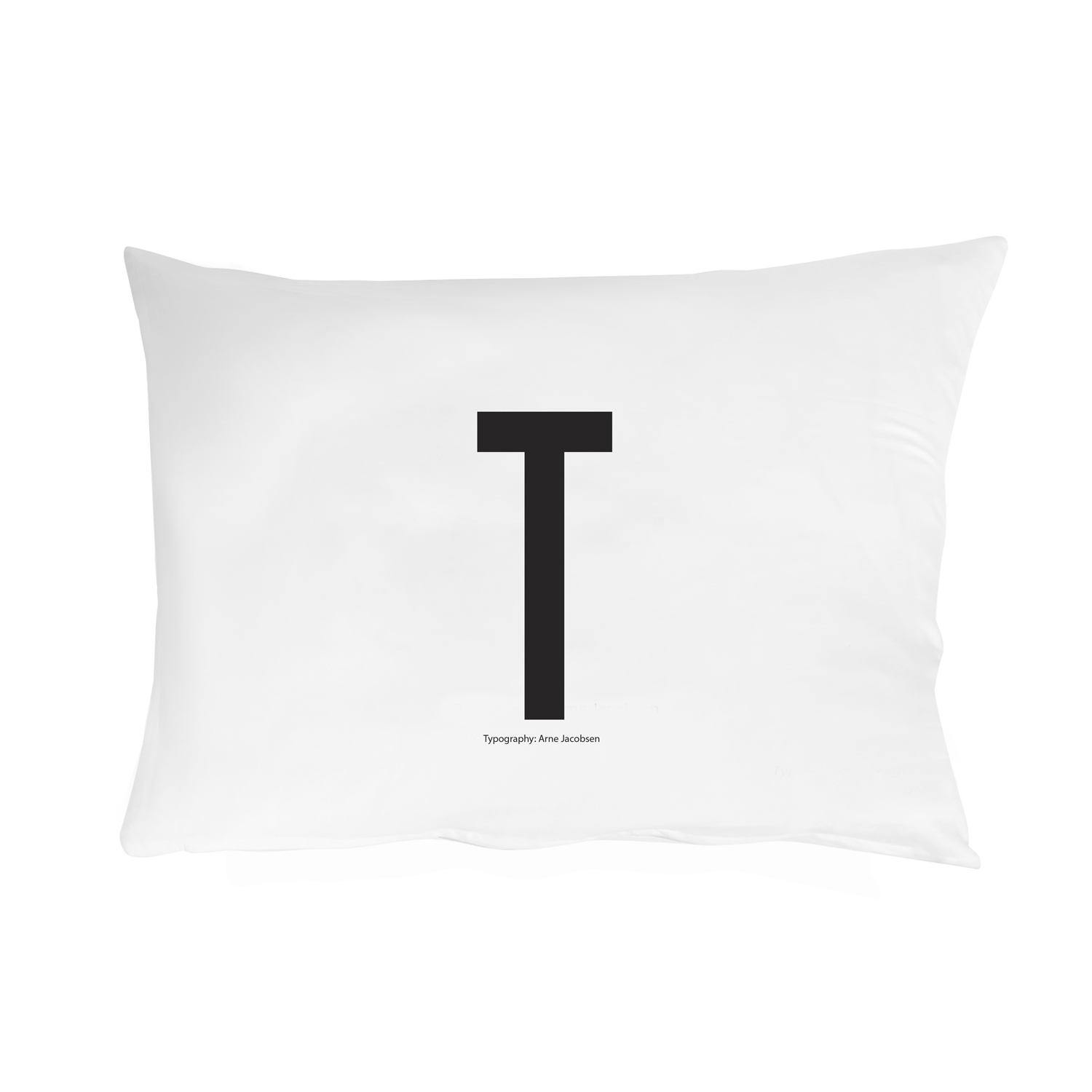 Design Letters// Pillowcase With Personal Letter T