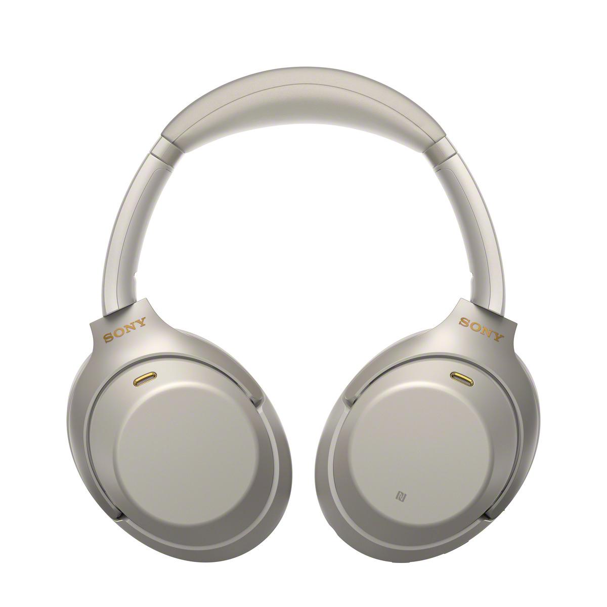 אוזניות SONY אלחוטיות דינמיות מרופדות מבטלות רעש דגם WH-1000XM3 - משלוח חינם - תמונה 4
