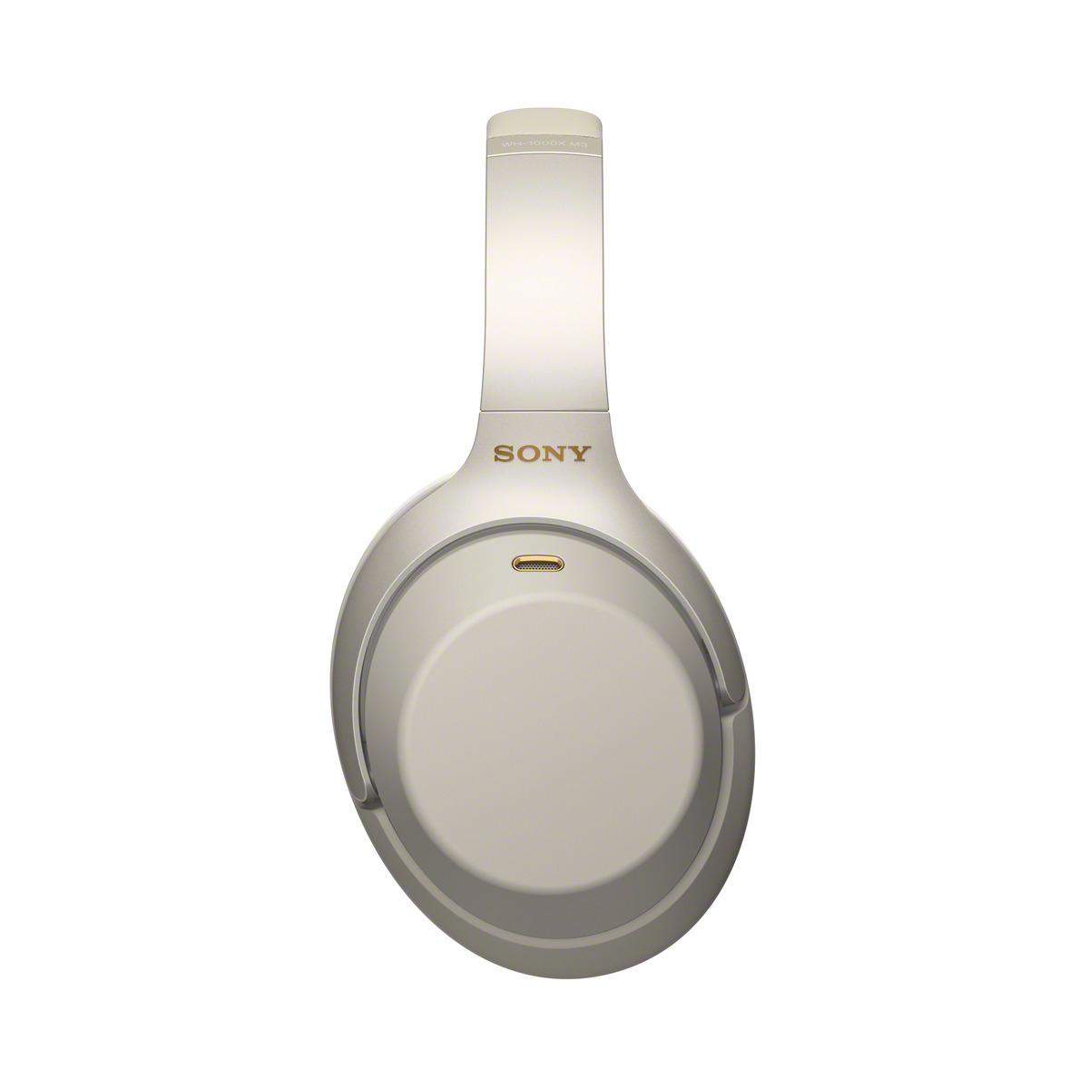 אוזניות SONY אלחוטיות דינמיות מרופדות מבטלות רעש דגם WH-1000XM3 - משלוח חינם - תמונה 2