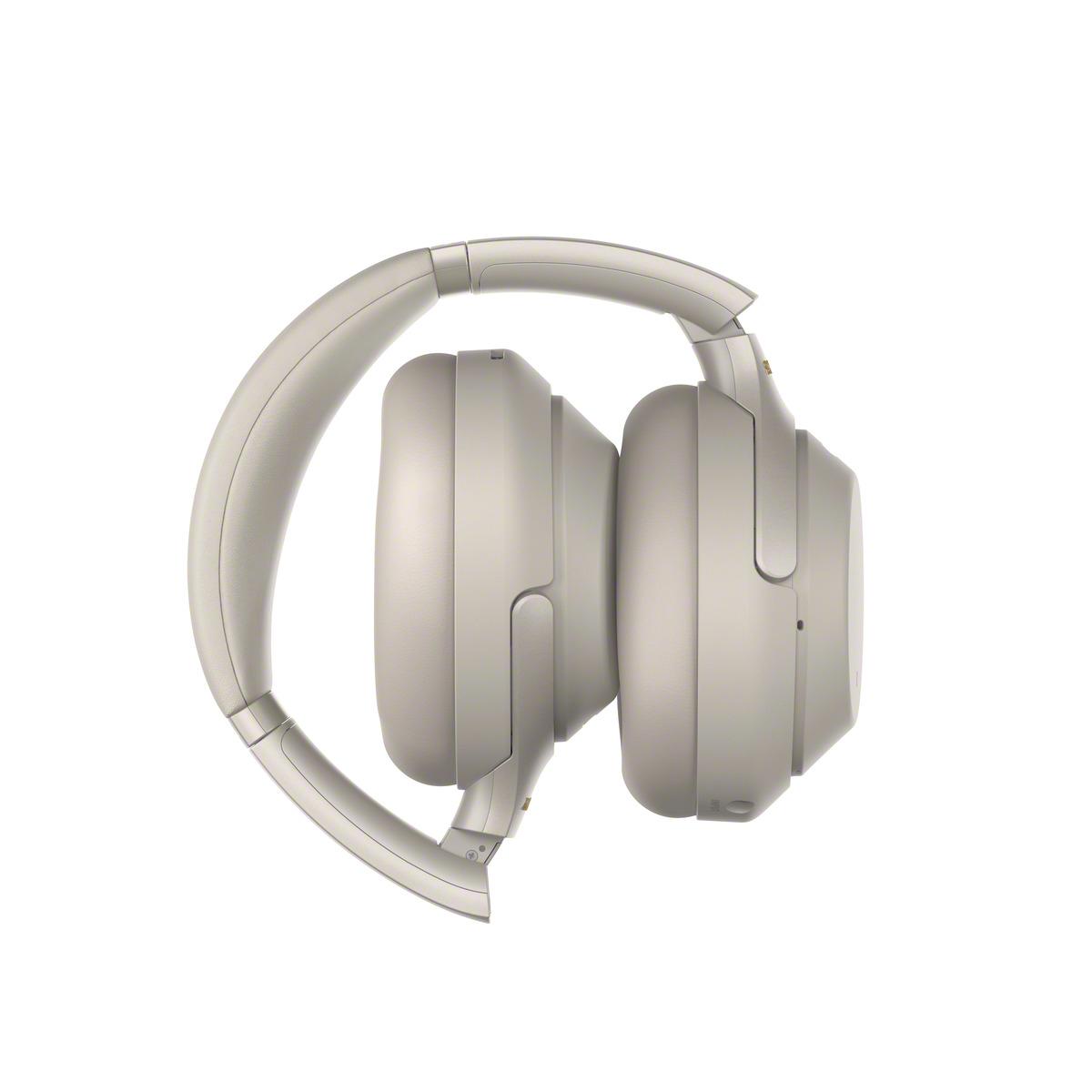 אוזניות SONY אלחוטיות דינמיות מרופדות מבטלות רעש דגם WH-1000XM3 - משלוח חינם - תמונה 3