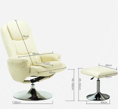 כיסא דגם SLON מתכוונן ממצב ישיבה לשכיבה כולל הדום תואם מתכוונן HomeTown - תמונה 5