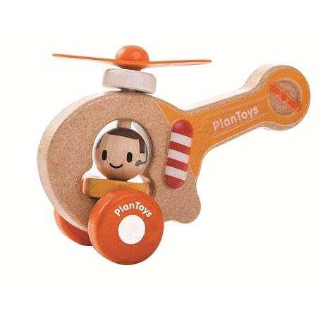 הליקופטר מעץ - Plan Toys