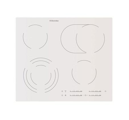 כיריים קרמיות TOUCH Electrolux אחריות יבואן רישמי דגם EHF6547IW1