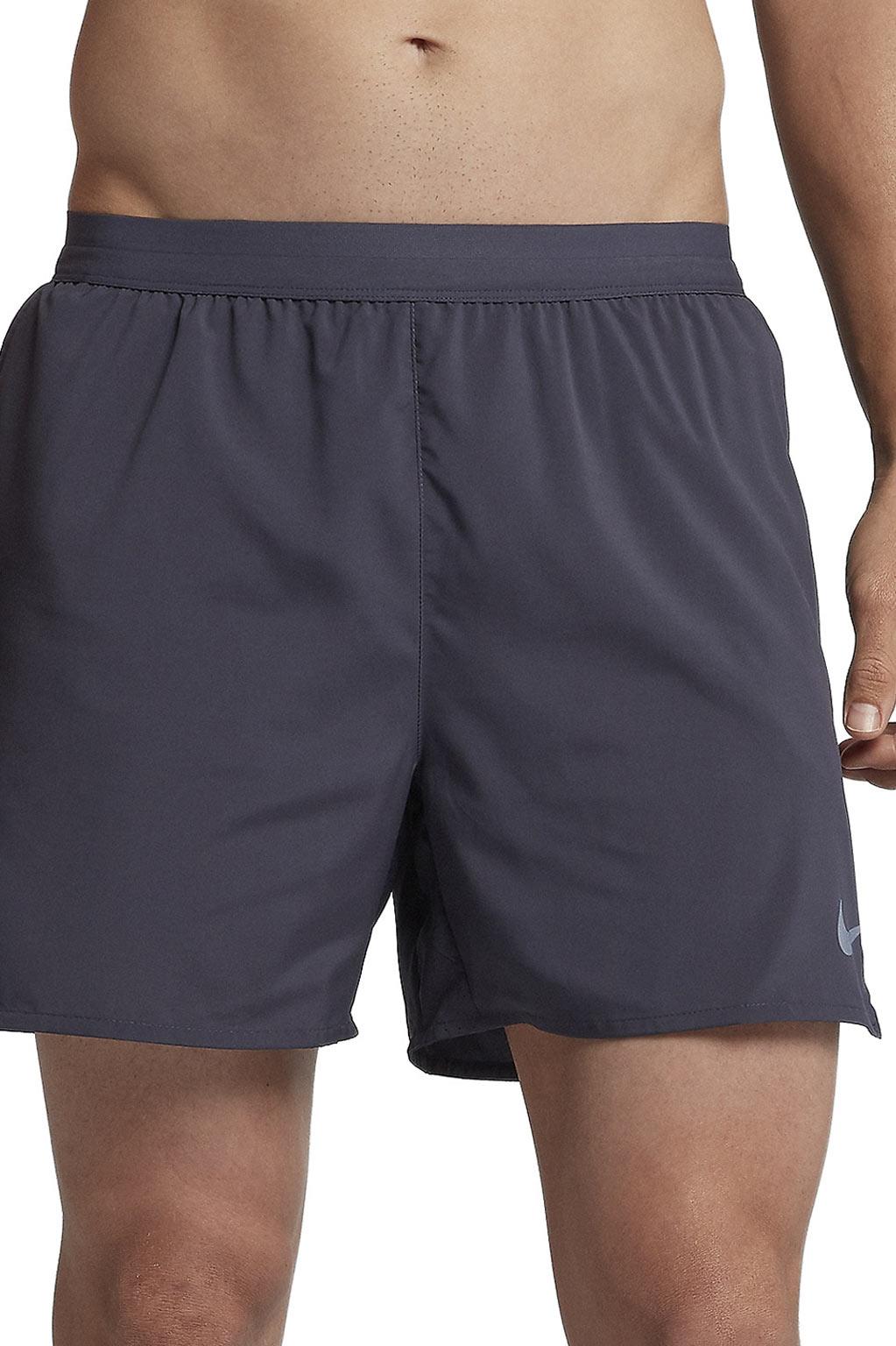 מכנסי ריצה קצרים לגברים - אפור כהה