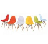 כסא לפינת אוכל נוח, מודרני, ומעוצב במגוון צבעים לבחירה