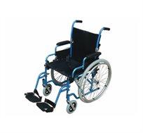 כסא גלגלים קל משקל עשוי ריפוד ניילון שחור