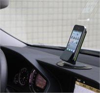 מתקן הולדר מעוצב לרכב או למשרד בעל משטח הדבקה יציב וגדול במיוחד למניעת נפילות ותזוזות
