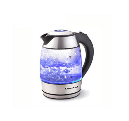 כד חשמלי מזכוכית Kitchen Chef עם תאורת LED דגם 5230