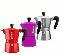 בגלל הארומה! מקינטה 3 כוסות Aeternum Allegra מבית Bialetti, כולל קפה Mauro ב-2 תערובות לבחירה