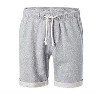 מכנסיים קצרים Napapijri לגברים בצבע אפור בהיר