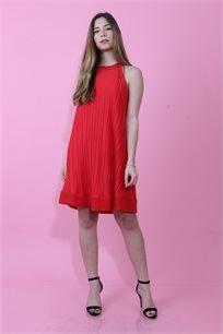 שמלת קולר פליסה