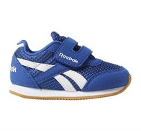 נעלי סניקרס Reebok לפעוטות דגם Royal CLJog 2 KC בצבע כחול/לבן