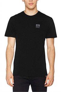 חולצת טי שרט Reef גזרת Regular עם צווארון עגול לגברים בצבע שחור