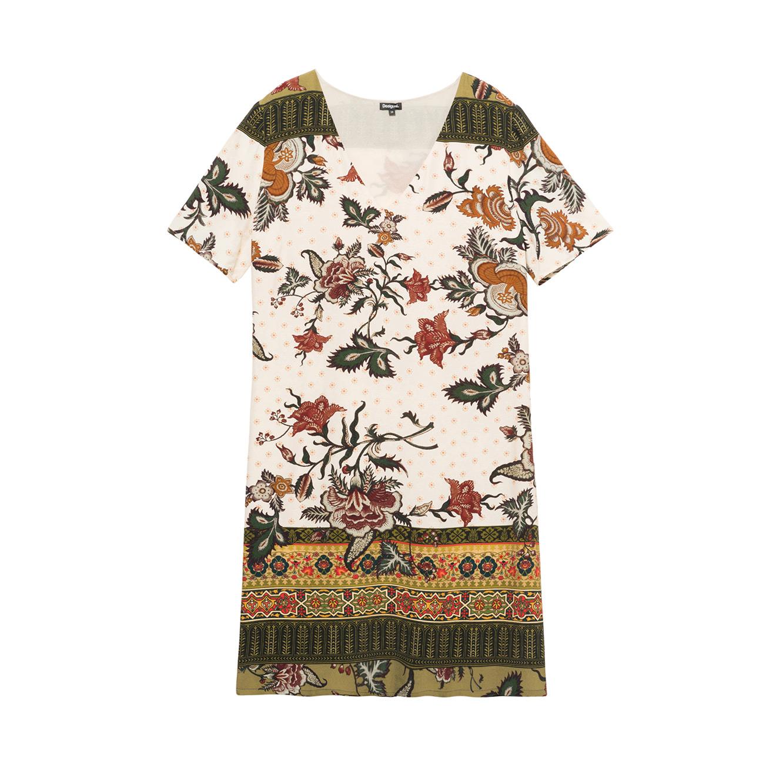 שמלת טוניקה Tunic - צבעונית