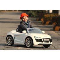 מכונית ממונעת לילדים 12V בדוגמת Audi R8