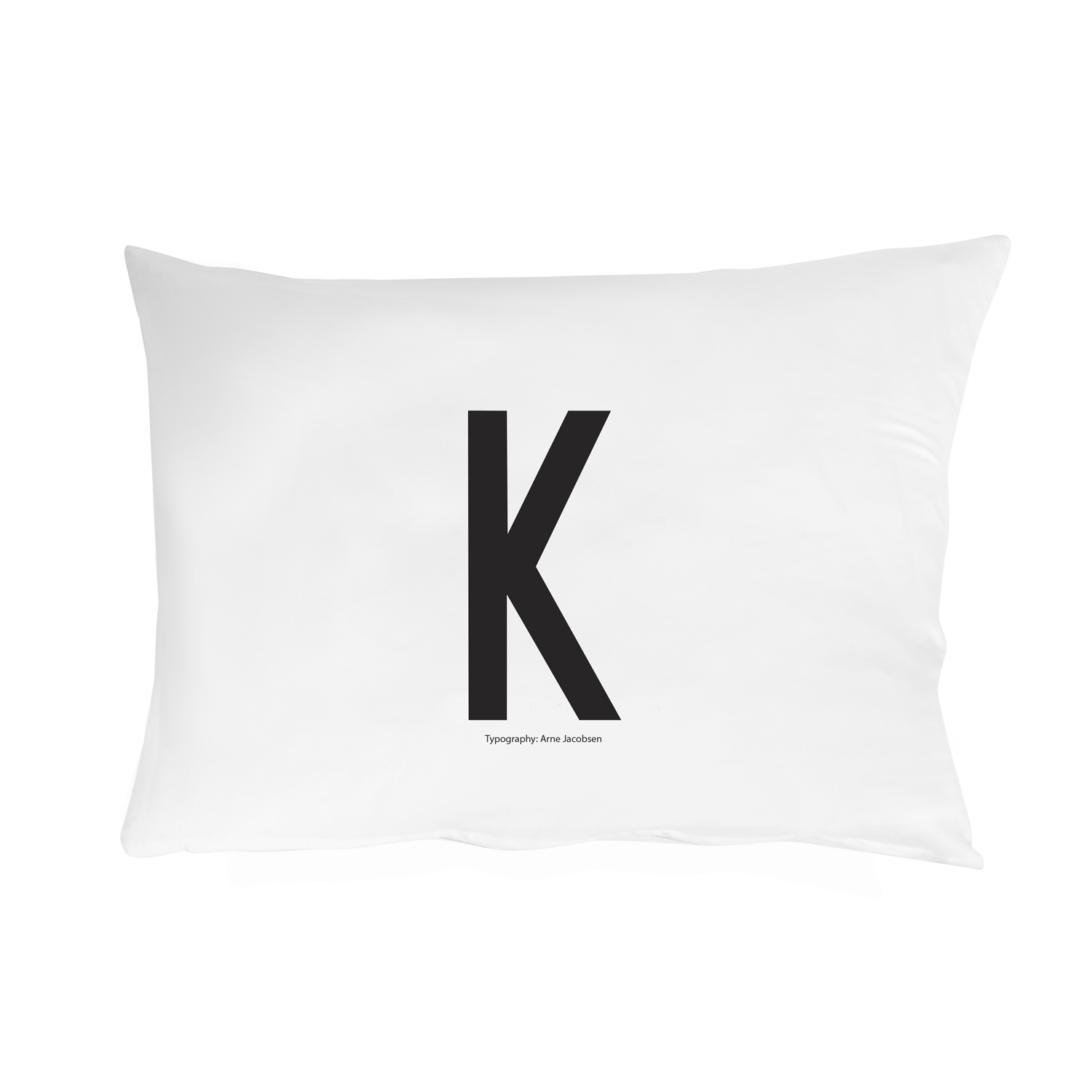 Design Letters// Pillowcase With Personal Letter K