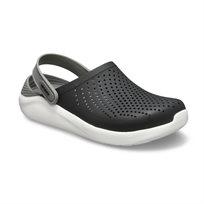 Crocs LiteRide Clog - כפכף בטכנולוגיית לייט-רייד בצבע שחוראפורלבן
