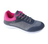 נעלי ספורט לנשים פילה - אפור ופוקסיה