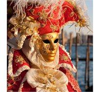 קרנבל מסכות בונציה! חוויה איטלקית מעולם אחר ל-4 לילות ב-4 מלונות לבחירה החל מכ-$590*