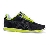 נעלי אופנה Asics לגברים דגם D3H3Y-9090 בצבע שחור ירוק