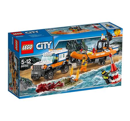 יחידת חילוץ 4X4  - משחק לילדים LEGO