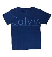 calvin klein קלווין קליין (6-4 שנים) טישרט - כחול