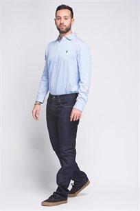 ג'ינס לגבר POLO RALPH LAUREN דגם HAMPTON STRAIGHT בצבע כחול כהה