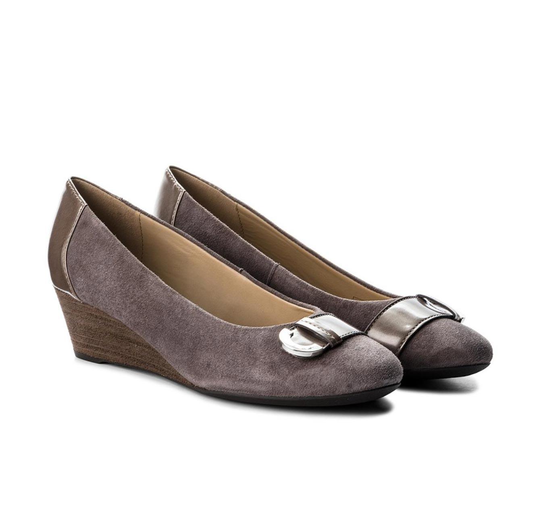 נעלי קז'ואל GEOX לנשים FLORALIE A - GOA.SUE+SYN.LEA - צבע לבחירה