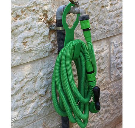 צינור השקייה מתארך קל לשימוש במידות לבחירה SHRANK + מתלה מתנה  - תמונה 3