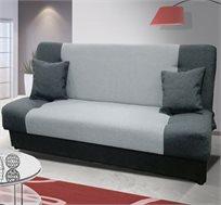 ספה אירופאית נפתחת למיטה עם ארגז מצעים דגם גאס