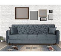 ספה נפתחת תלת מושבית כוללת ארגז מצעים דגם DEFNE