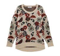 סוודר פרחוני PROMOD לנשים