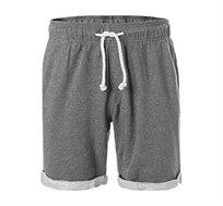 מכנסיים קצרים Napapijri לגברים בצבע אפור