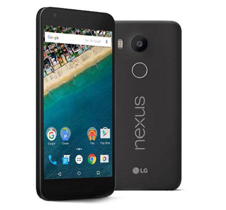 "NEXUS 5X עם מסך ""HD 5.2, מעבד 6 ליבות, 16GB זיכרון ו-Android 6.0 Marshmallow"